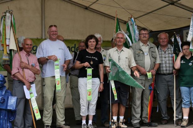 Wimpelbänder für den Thüringerwald-Verein