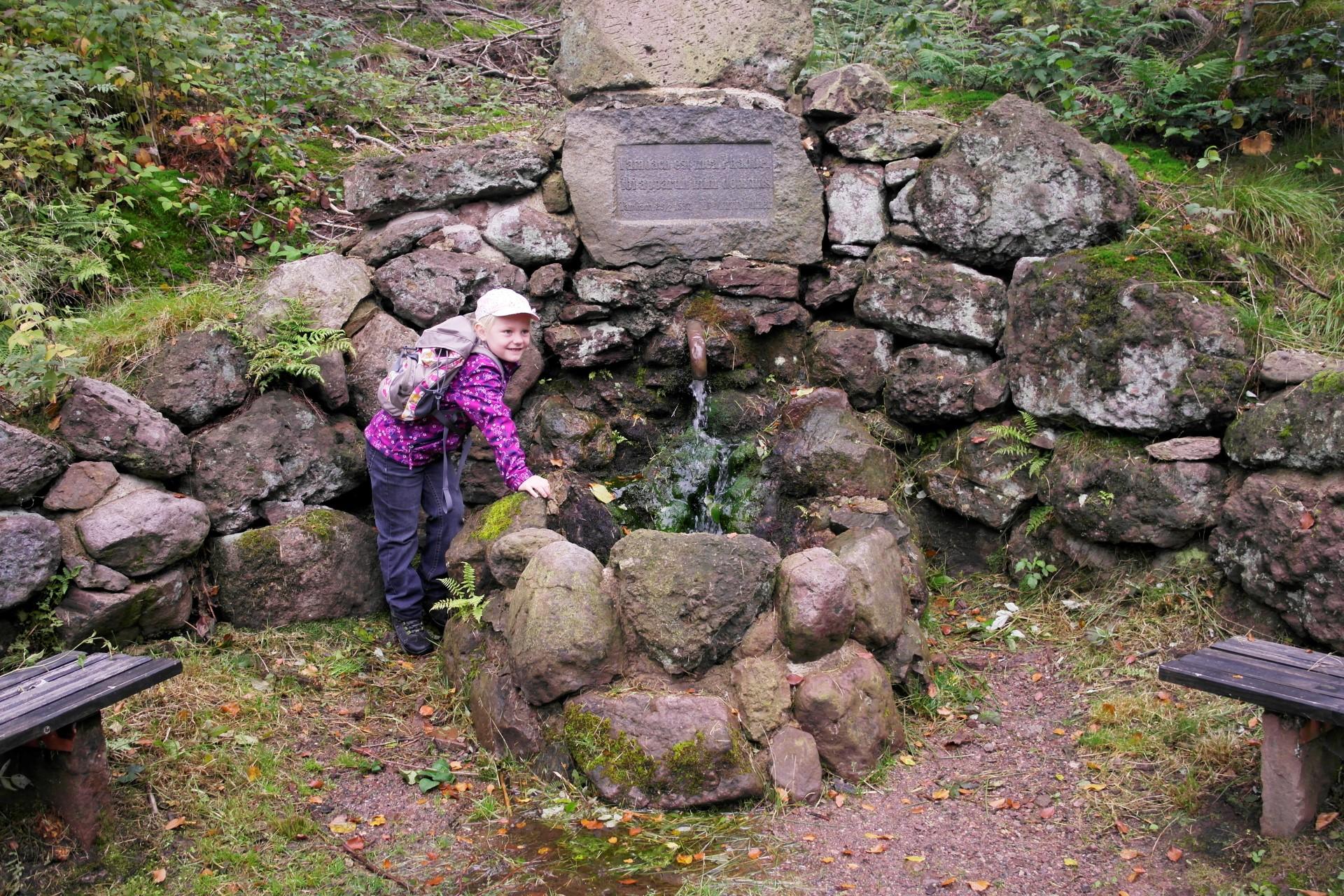Der alte Lutherbrunnen bei Tambach-Dietharz