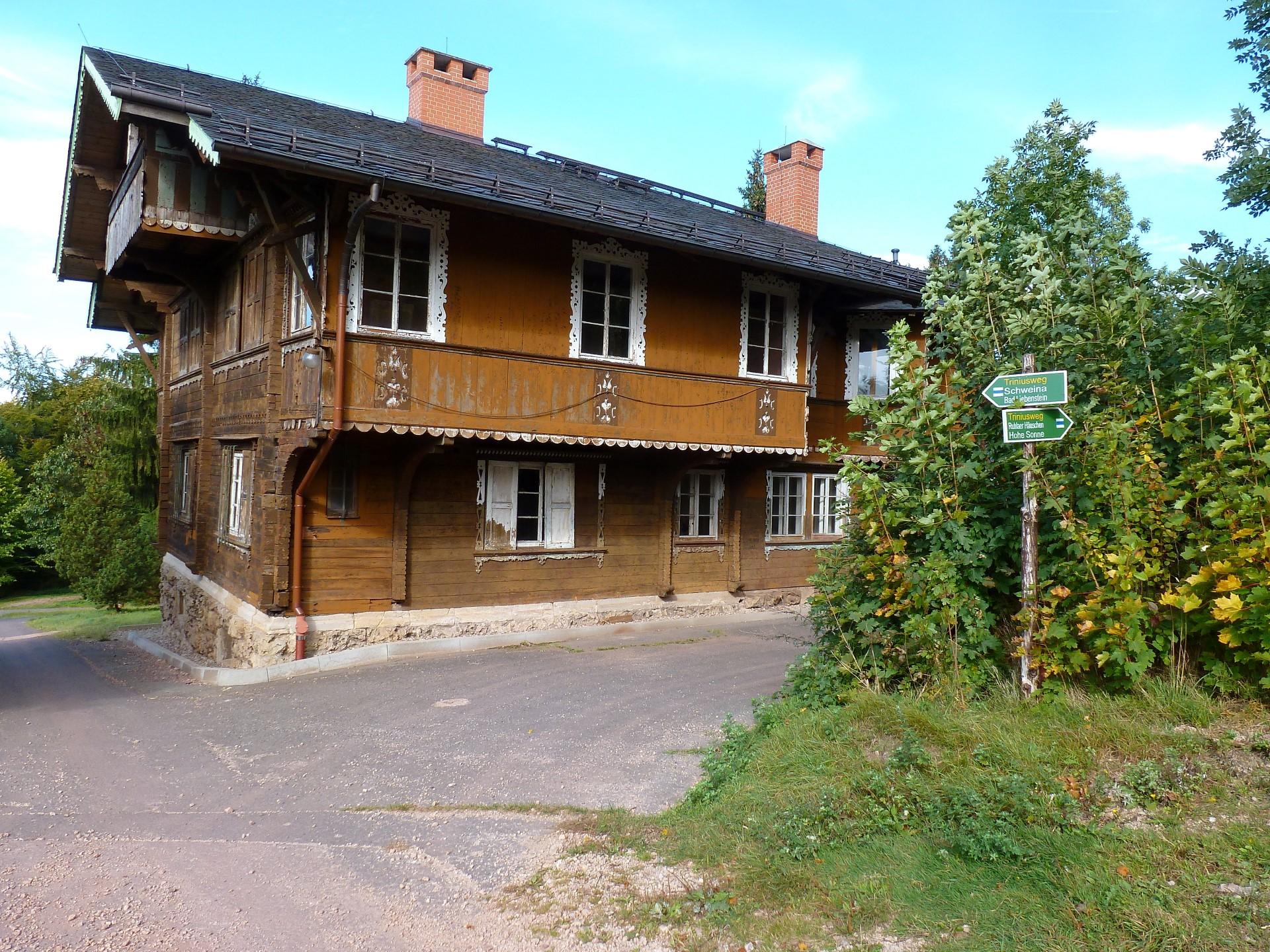 Das herzogliche Jagdhaus am Kissel