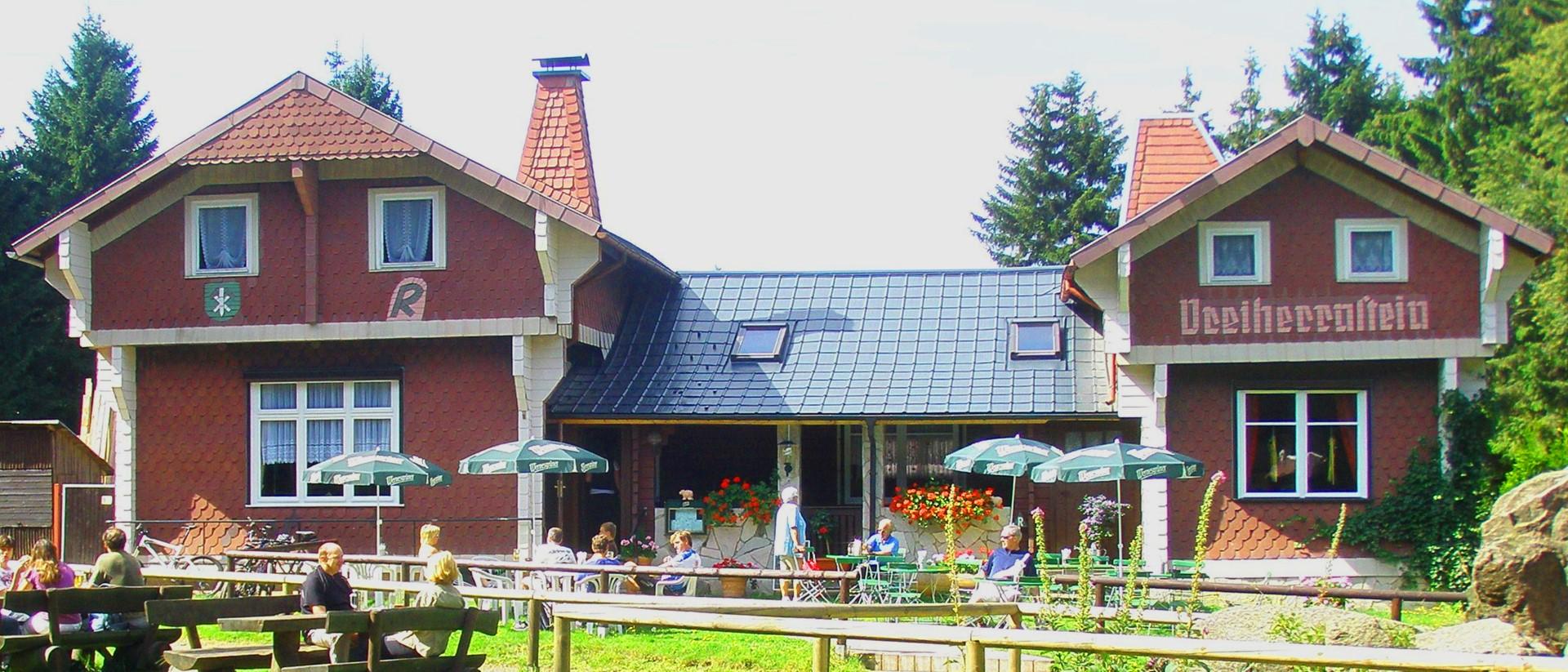 Die Waldschänke Dreiherrnstein