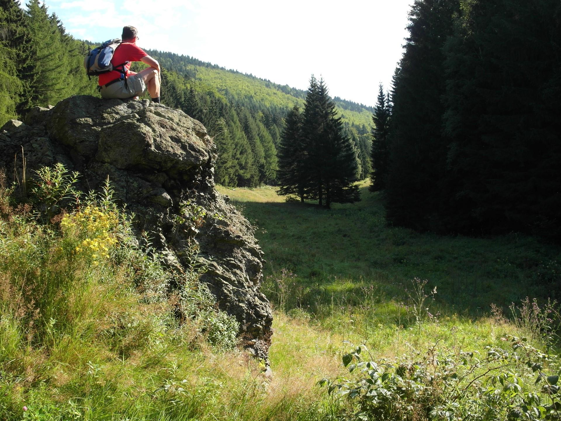 Eine traumhafte Kulisse - das Ebersbachtal