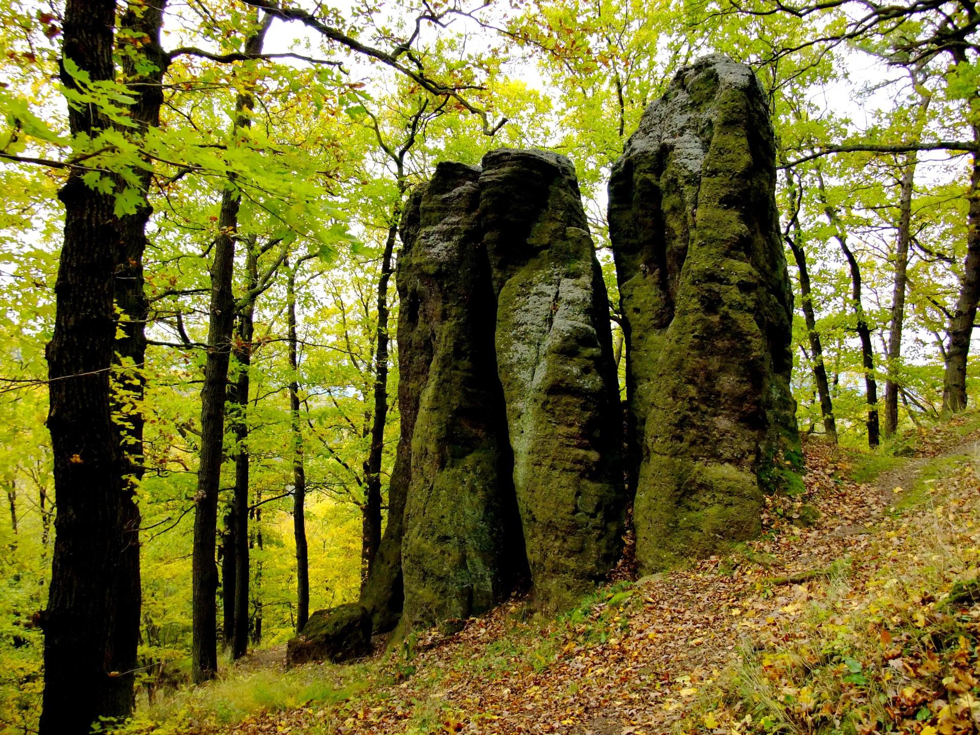 Felsengruppe Mönch und Nonne