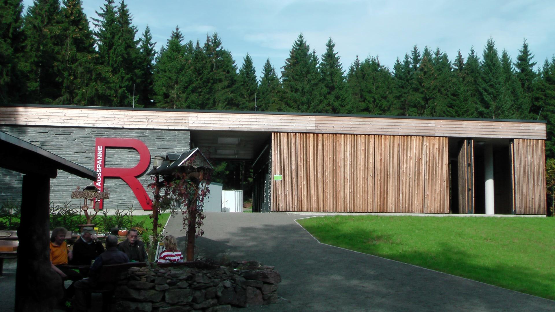 Rennsteighaus an der Neuen Ausspanne