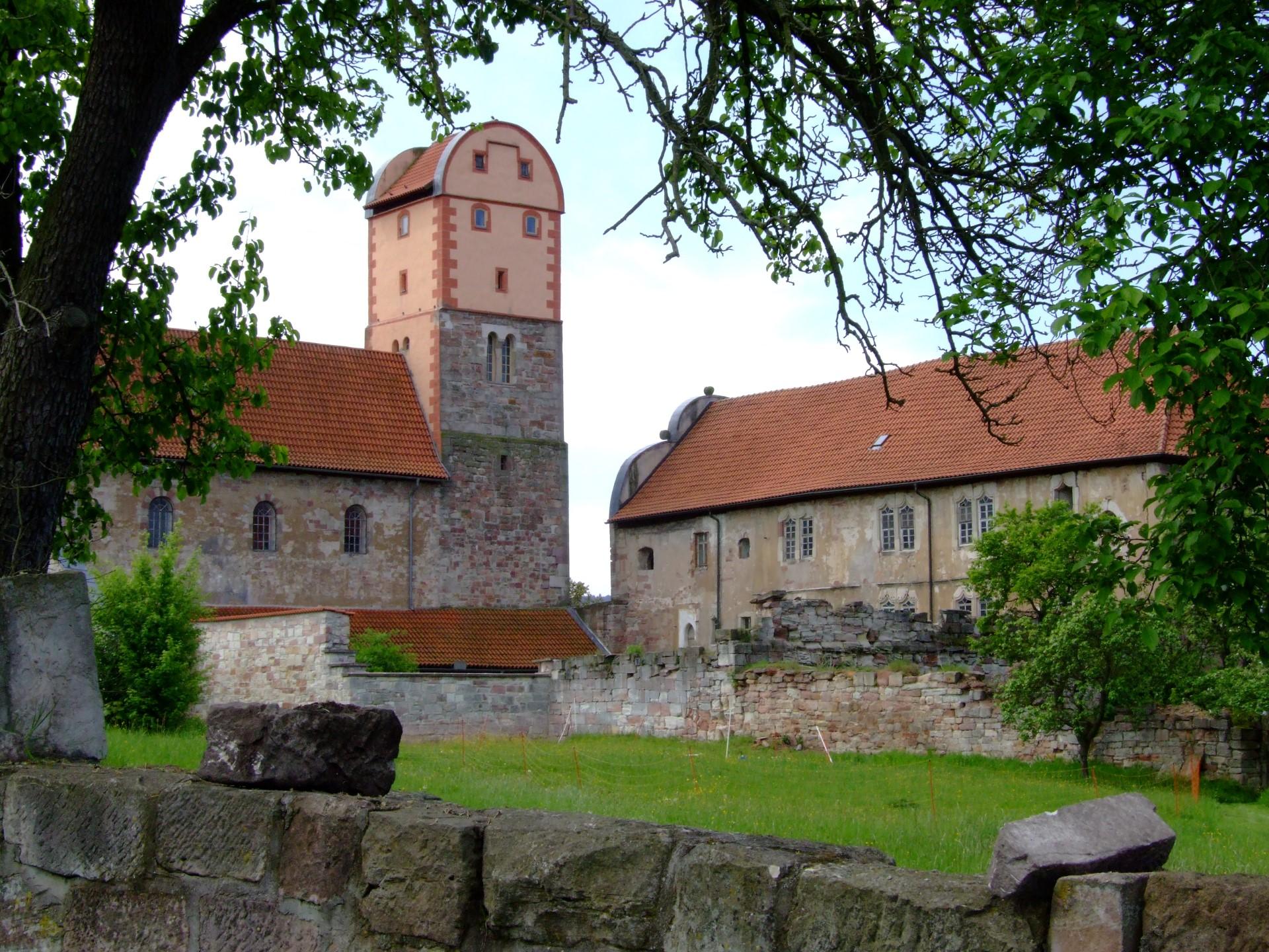 Schloß und Basilika Breitungen