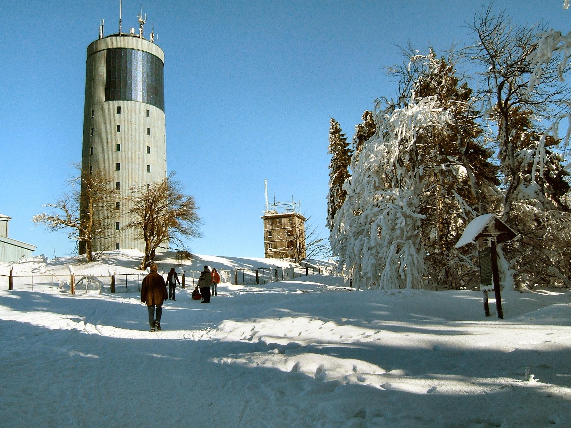 Winter am Großen Inselsberg