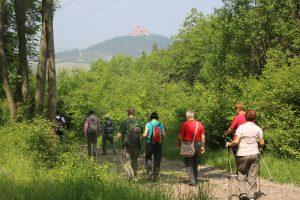 Auf jeder Tour im Blickfeld: Die Wachsenburg