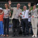 Prominenz bei der Abschlussveranstaltung in Bad Liebenstein